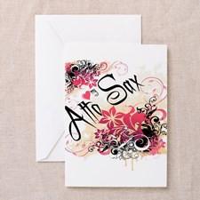 Alto Sax Greeting Cards