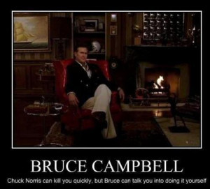 Bruce Campbell Quotes | uploaded to pinterest