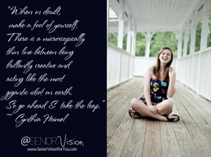 Portraits Quotes And Sayings: Every Senior Has A Vision On Her Life ...
