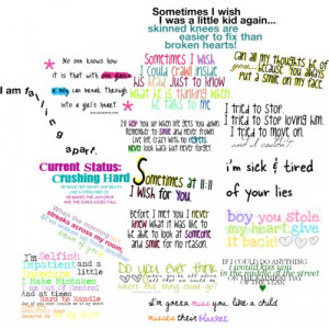 Quotes about Crushing on a boy - Polyvore