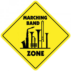 Spongebob Marching Band Quotes Marching band zone sign