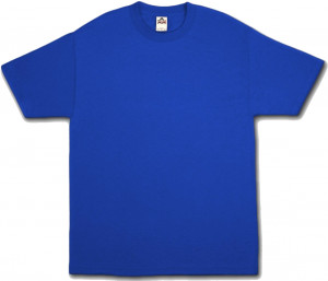 Royal blue quotes like success for Blue t shirt template