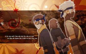 Old Team Minato - Naruto Wallpaper