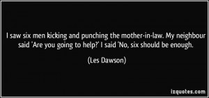 More Les Dawson Quotes