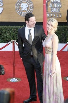 Names Anna Camp And Michael Mosley At The 2010 Sag Awards picture