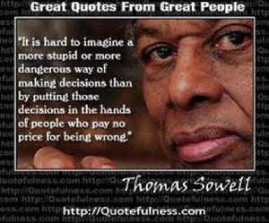 Thomas Sowell on Putting Decisions in People's Hands