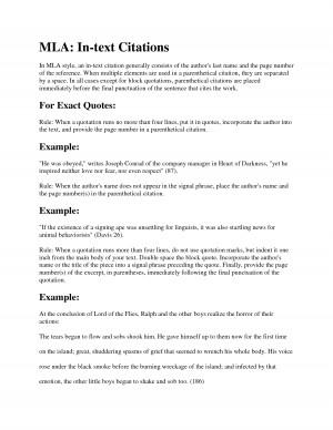 MLA Citation Styles shuddering by benbenzhou