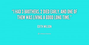 quotes for brothers who died