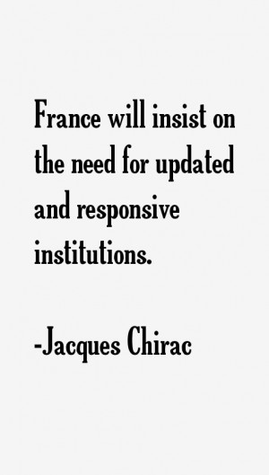 Jacques Chirac Quotes & Sayings