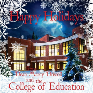 Happy Holidays from the FSU College of Education