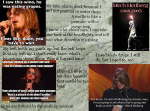 Mitch Hedberg Funniest man to grace the earth RIP Mitch