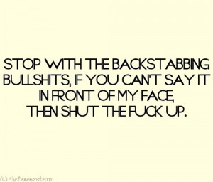 Backstabbing Friend Quotes | Best Tumblr quotes images - Tumblr love ...