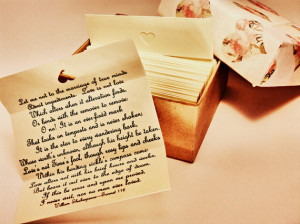 Newlyweds Quotes - Wedding Quotes - Love Quotes - Box of 60 Handmade ...