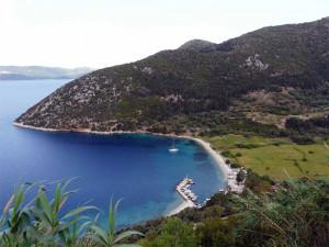 Ithaca Island Greece Map