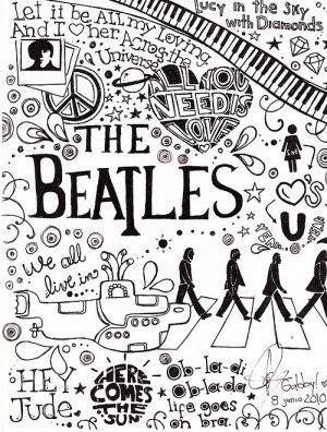... Beatles. Here are a few of my favorite quotes from some of their songs