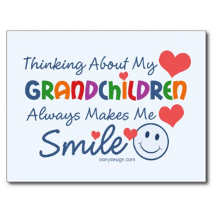 Love My Grandchildren Postcard