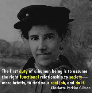 Charlotte Perkins Gilman Quotes