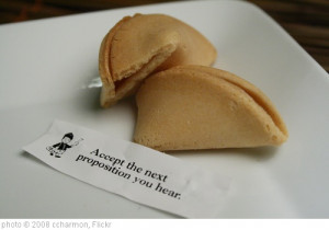 Opened Fortune Cookie' photo (c) 2008, ccharmon - license: http ...