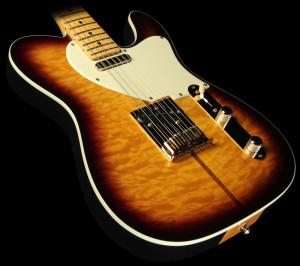 ... Custom Shop Merle Haggard Telecaster Electric Guitar 2-Tone Sunburst