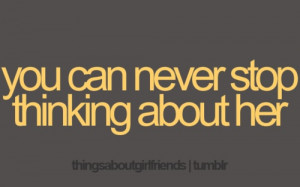 She's always on my mind :) LAB