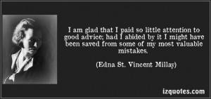 edna saint vincent millay quotes -