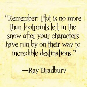 Ray Bradbury quote. #inspiring