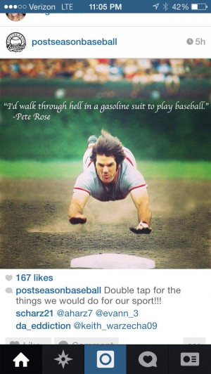 ... . Great slide and great player and one of the greatest quotes ever