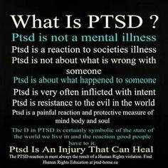 PTSD- Awareness, Surviving, Conquering
