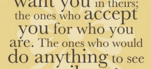 , it's the people who love you no matter what : Quote About Family ...