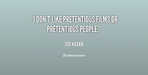 sayings about pretentious people