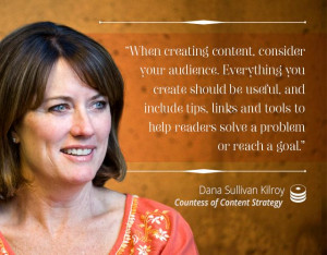 When creating content, consider your audience. Everything you create ...