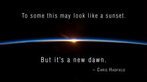... sunrise sun outer space horizon dawn quotes earth astronaut Wallpaper