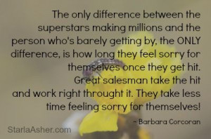 Barbara Corcoran Quotes http://StarlaAsher.com http://Facebook.com ...