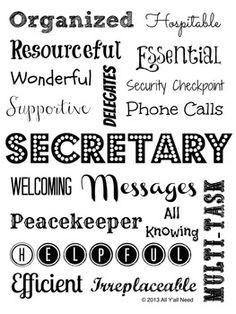 ... Administrative Assistant. *Secretary Subway Art #secretary #adminasst