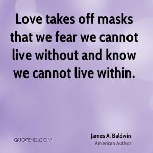 James Baldwin Quote Love