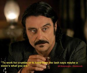 Deadwood Quote