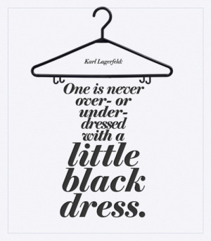 The Little Black Dress - A Girl's Best Friend