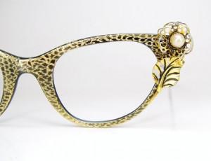 Vintage Tura Cat Eye Glasses