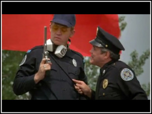 and david graf cadet eugene tackleberry in police academy 1984