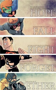 quotes young justice more young justice robin good quotes true colors ...