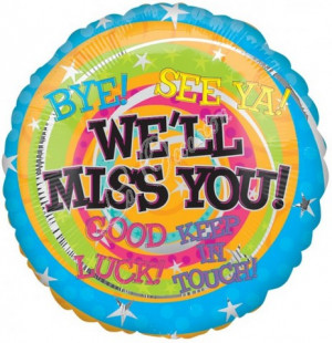 We Will Miss You Quotes Clipart