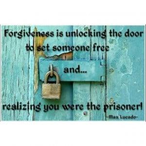 Max Lucado- Forgiveness