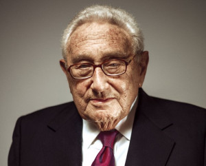 Henry Kissinger, photographed in New York City on March 11 (Grant ...