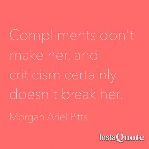 Quotes About Not Caring What Others Think Makes morgan quote