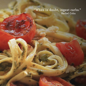 """When in doubt, ingest carbs."""" #quote #food #pasta #buitoni"""