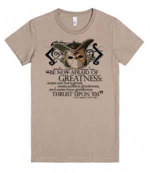 Shakespeare's Twelfth Night Greatness Quote