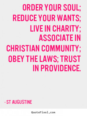 ... ; associate in christian.. St Augustine good inspirational quotes