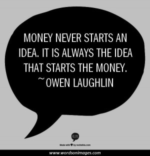Famous money quot...