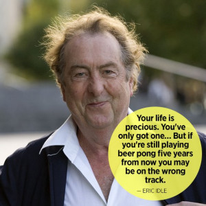 Eric Idle: Funny Quotes for Graduates - mom.me