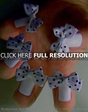 funny, manicure, art, bows nails, design